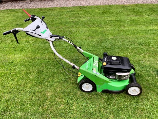 Preview of the first image of Viking (Stihl) MB 750 KS Self Propelled Lawnmower. No VAT!.