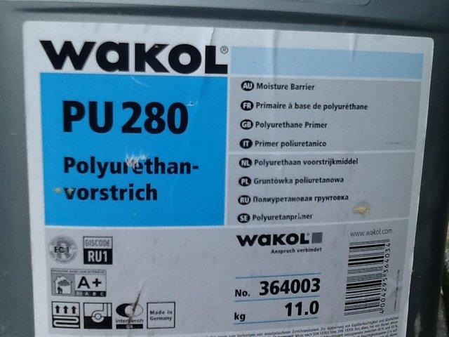 Image 3 of Wakol PU 280 (moisture barrier for wood floors)