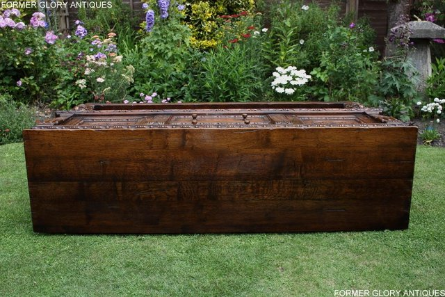 Image 23 of A TITCHMARSH AND GOODWIN CARVED OAK DRESSER BASE SIDEBOARD