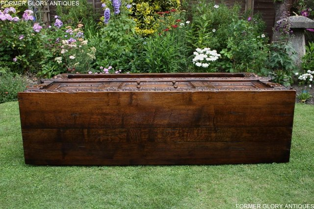 Image 72 of A TITCHMARSH AND GOODWIN CARVED OAK DRESSER BASE SIDEBOARD