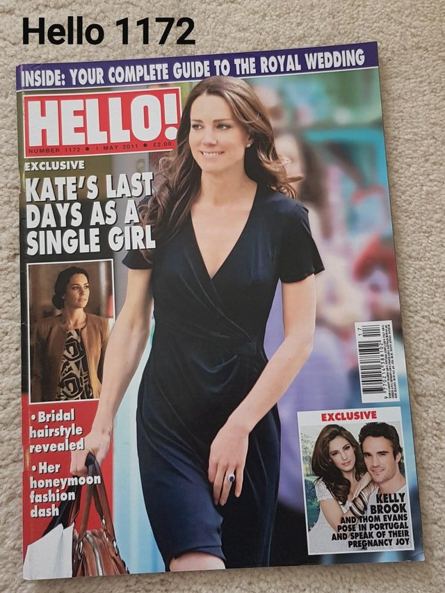 Preview of the first image of Hello Magazine 1172 - Kate: Last Days As Single Girl - Guide.