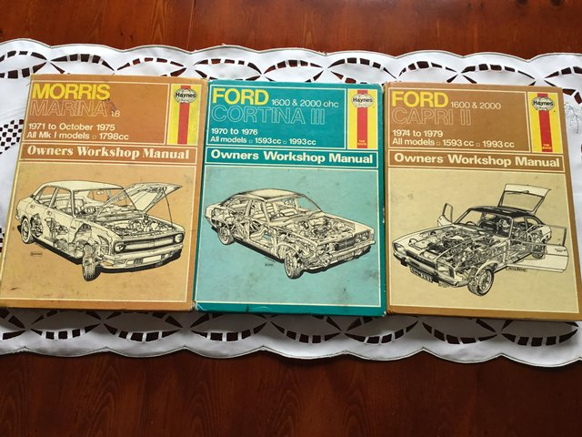 Preview of the first image of Car owners Workshop Manuals.