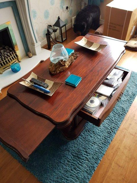Preview of the first image of Mahogany Coffee Table.