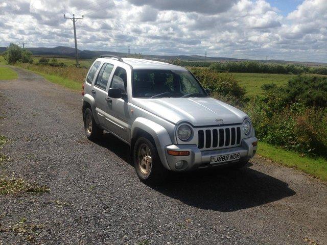 Image 2 of Jeep Cherokee, 2002 (52) Silver Estate, Manual Diesel, 121,0