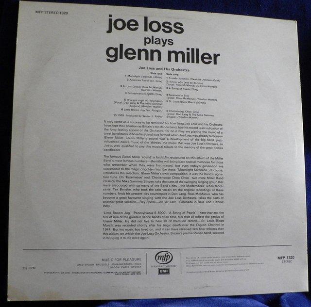 Image 2 of Joe Loss Plays Glenn Miller 1969 - MFP stereo 1320