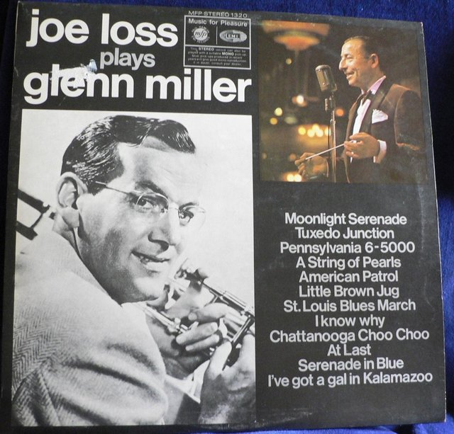 Preview of the first image of Joe Loss Plays Glenn Miller 1969 - MFP stereo 1320.