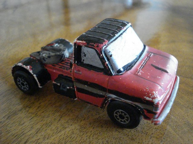 Image 2 of RARE VINTAGE DIECAST MATCHBOX SUPERKINGS LORRY FORD W SERIES