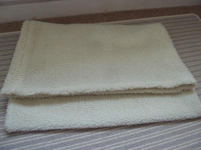 Image 3 of over the radiator fleecey cat bed