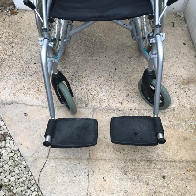 Image 2 of Wheel chair light weight collapsible ideal travel item
