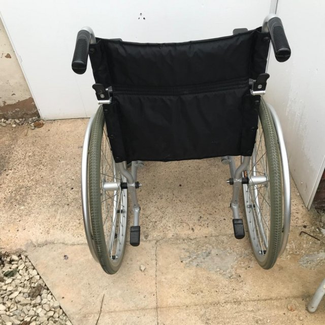 Image 5 of Wheel chair light weight collapsible ideal travel item