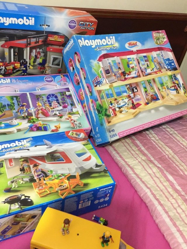 Preview of the first image of Huge-Bundle-Playmobil-5221-5433-53.
