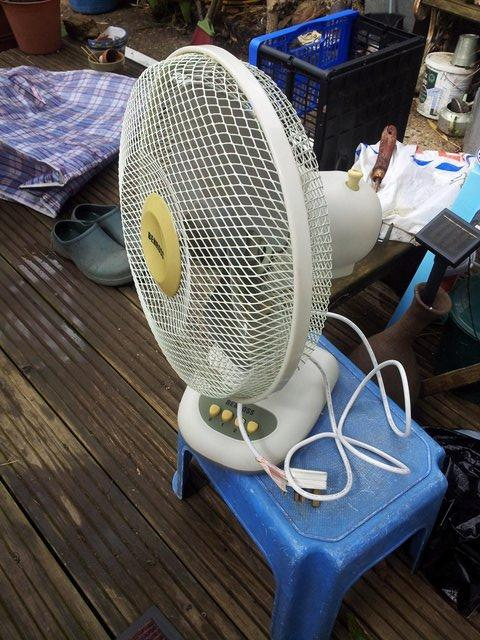 Image 2 of Benrosh 12 inch oscilating desk fan