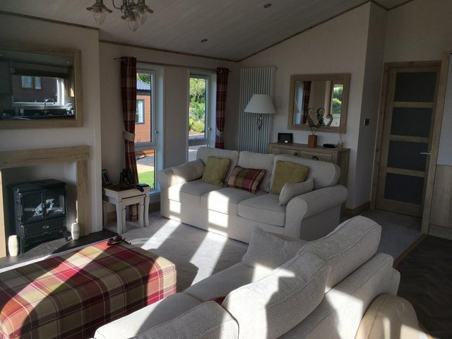 Image 10 of Luxury ABI Harrogate Lodge 20x40 2 bed 2 bath Front Row