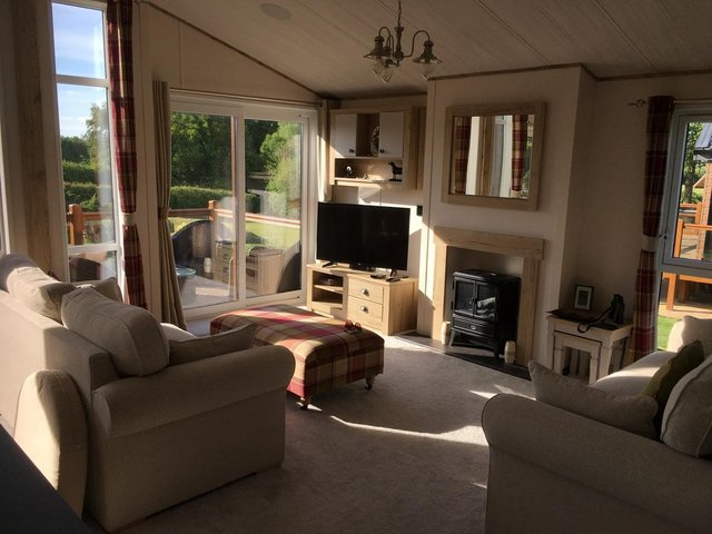 Image 12 of Luxury ABI Harrogate Lodge 20x40 2 bed 2 bath Front Row