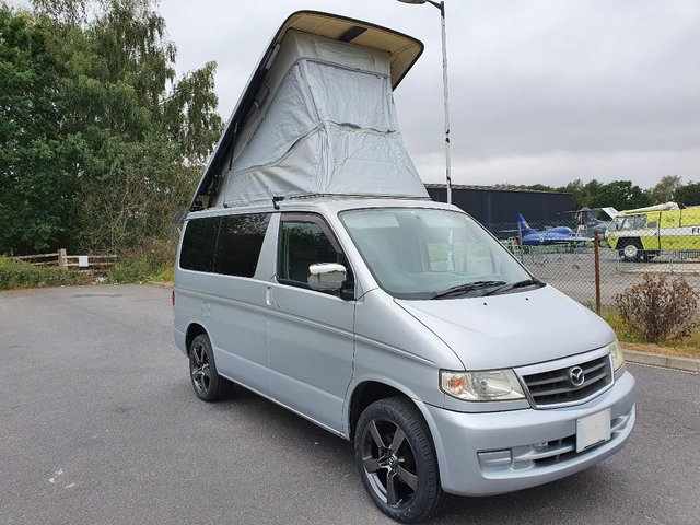 Preview of the first image of Mazda Bongo Campervan 4 berth 6 seat elec roof, new kitchen.