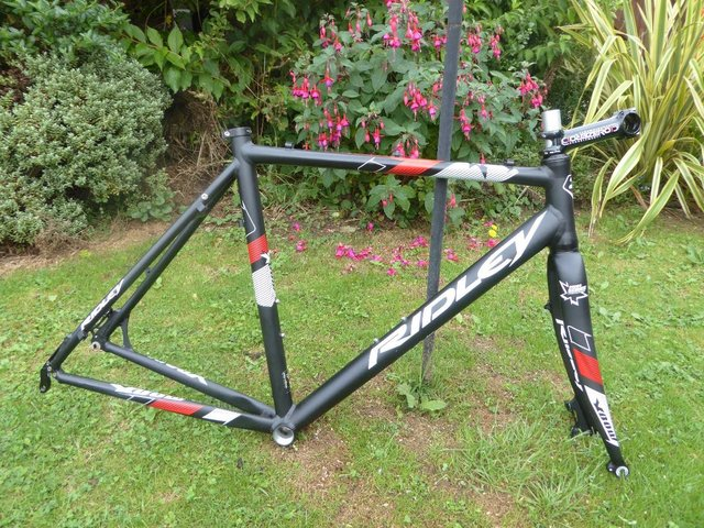 Preview of the first image of Ridley XBow CX Gravel Bike Frame.