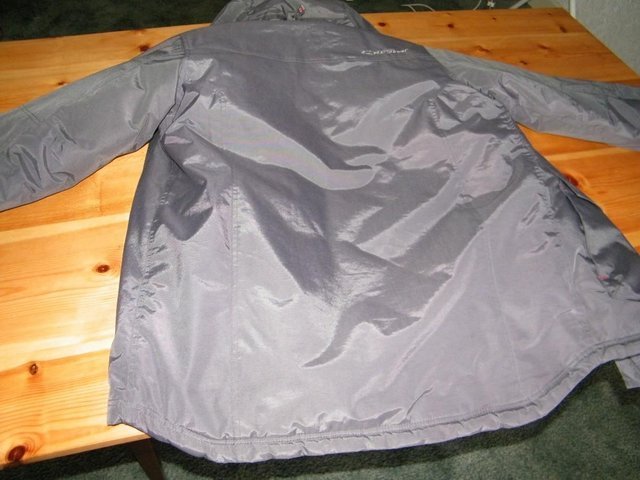 Image 7 of Grey Anorak strong and warm, with little use