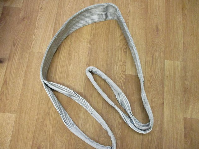 Image 3 of Heavy Lifting Webbing Sling 100% POLYESTER