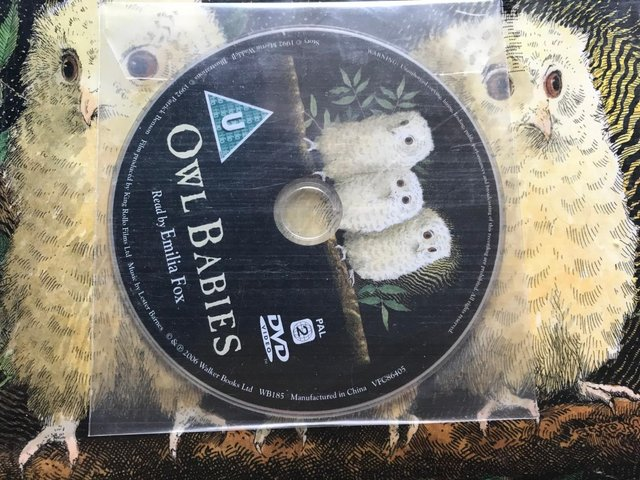Preview of the first image of OWL BABIES book and CD new.