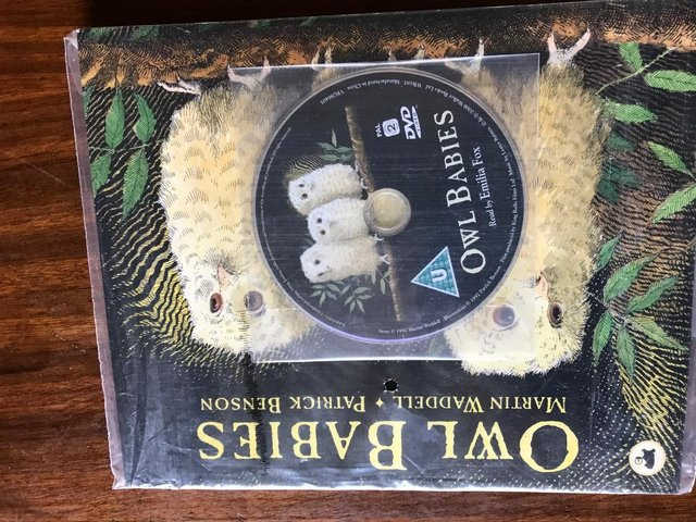 Image 2 of OWL BABIES book and CD new