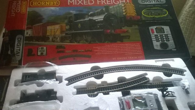Preview of the first image of hornby mixed freight.