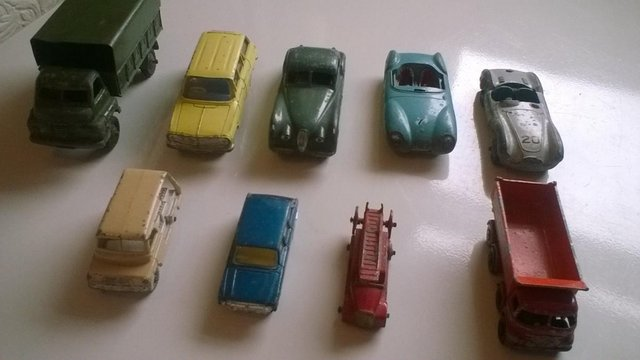 Preview of the first image of dinky toy cars.
