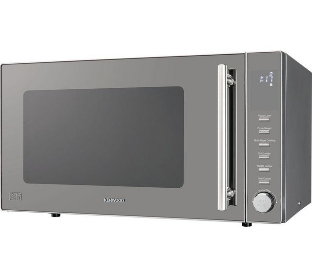 Preview of the first image of KENWOOD 30L-900W NEW BOXED MICROWAVE & GRILL-SILVER.