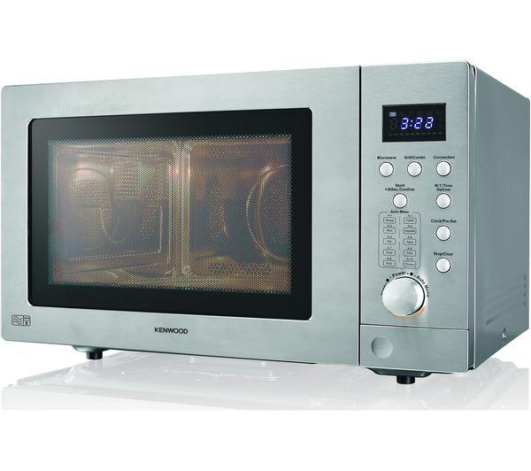 Preview of the first image of KENWOOD 25L-900W-SILVER COMBINATION MICROWAVE-NEW BOXED.