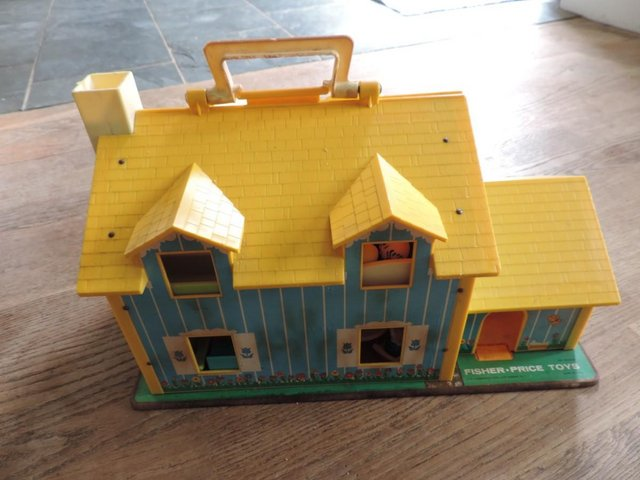 Image 2 of Vintage 1970's Fisher Price House