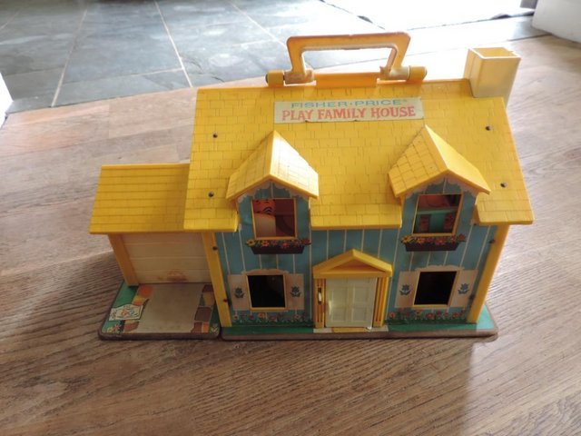 Preview of the first image of Vintage 1970's Fisher Price House.