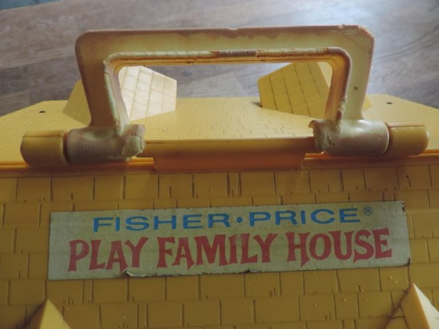 Image 3 of Vintage 1970's Fisher Price House