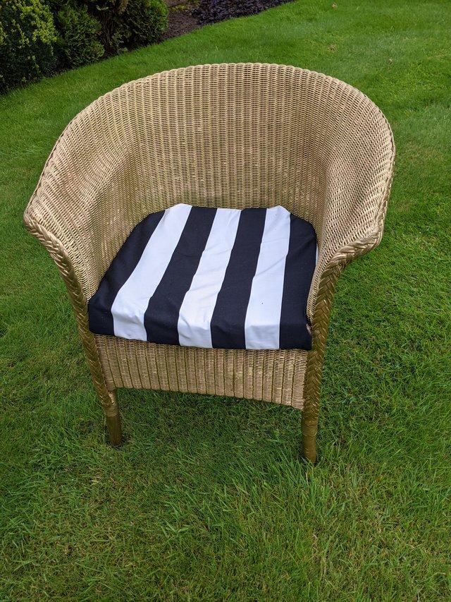 Image 2 of Genuine Lloyd Loom armchair