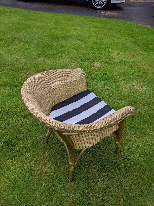 Image 3 of Genuine Lloyd Loom armchair