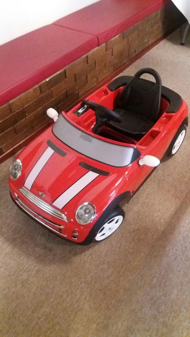 Preview of the first image of Kids Electric Battery Ride on Mini Car.