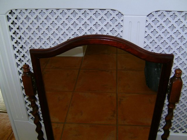 Preview of the first image of Dressing table tilt mirror.