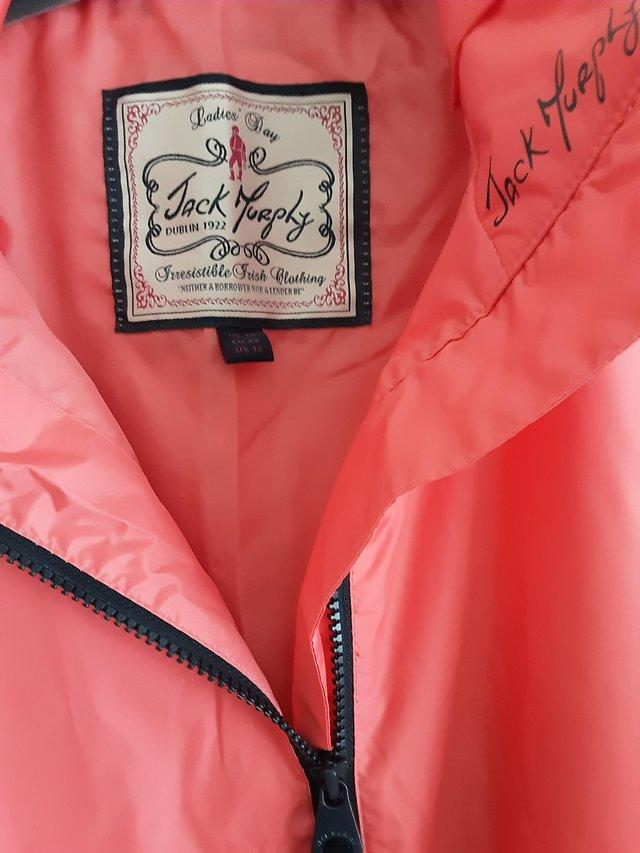 Preview of the first image of Jack Murphy Elsa Waterproof Jacket Size 14.