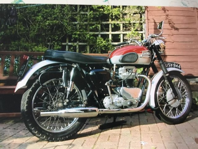Preview of the first image of Triumph TR6SS 650cc motorcycle 1962 Pre-unit..