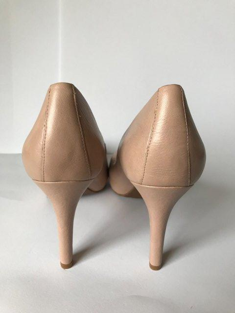 Image 3 of Womens Rockport High Heels Nude Leather size 4.5