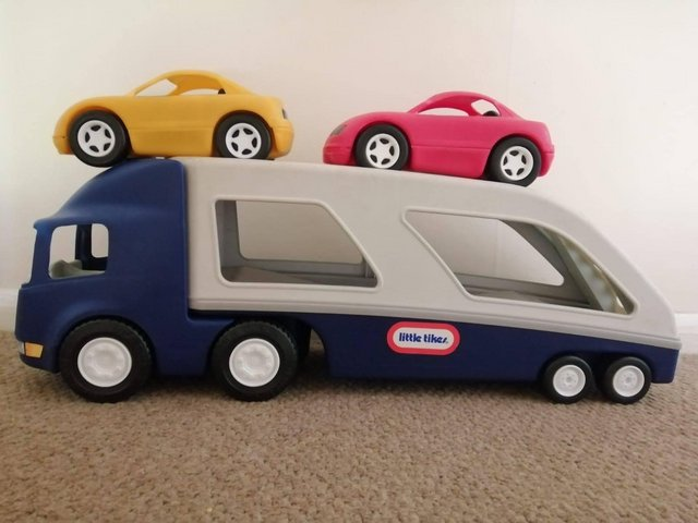 Preview of the first image of Little tikes car transporter.