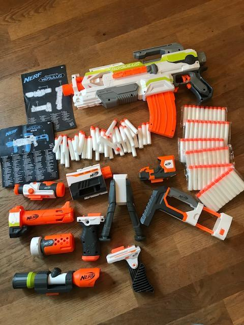 Image 7 of A Huge Collection Of Nerf Guns And Bullets