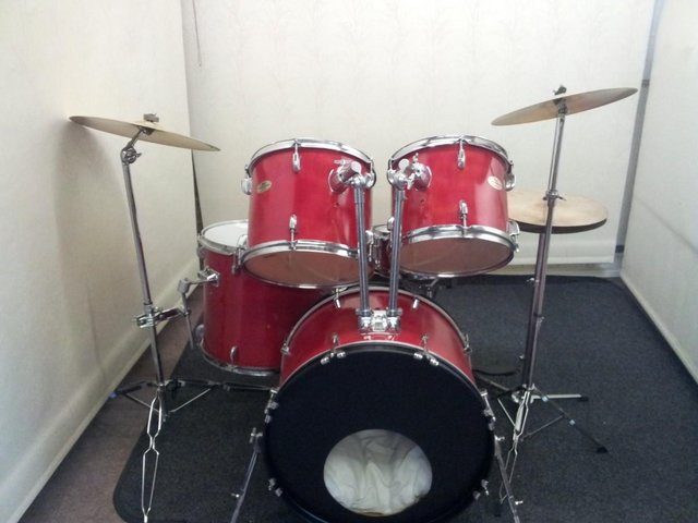 Image 3 of Retired drum teacher has several Pearl drum kits for sale.