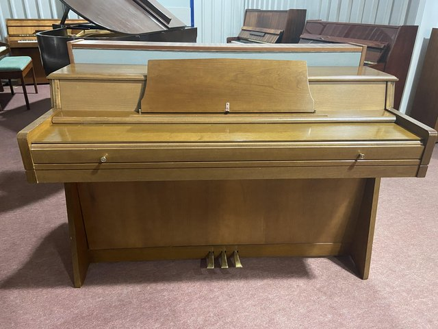 Preview of the first image of Stylish Wurlitzer piano with matching stool.