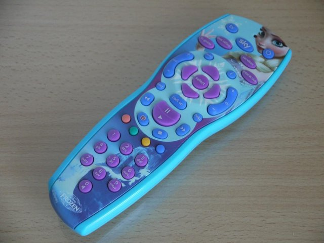 Preview of the first image of Sky+HD Box & Disney's Frozen Remote Control.