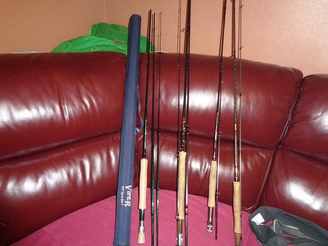 Preview of the first image of FLY FISHING TACKLE Retirement saleHARDY RODS REELS.
