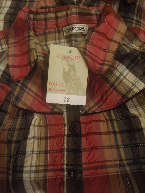 Image 2 of Cherokee long top, new, size 12