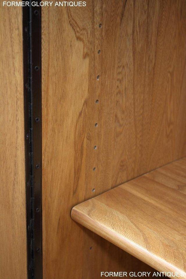 Image 29 of ERCOL LIGHT ELM WINDSOR HIGH SIDEBOARD DRESSER BASE CABINET