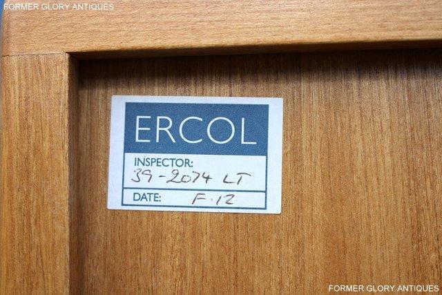 Image 41 of ERCOL LIGHT ELM WINDSOR HIGH SIDEBOARD DRESSER BASE CABINET