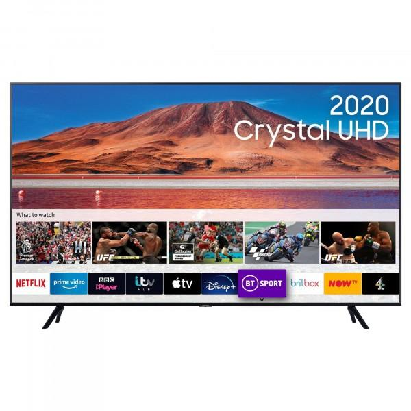 Preview of the first image of SAMSUNG 50INCH SMART TV-4K-WITH TIZEN OS-NEW BOXED-.