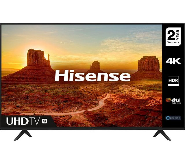 Preview of the first image of HISENSE 55 INCH SMART TV-4K-LED-DIRECTLIT-NEW -WOW LAST 1.