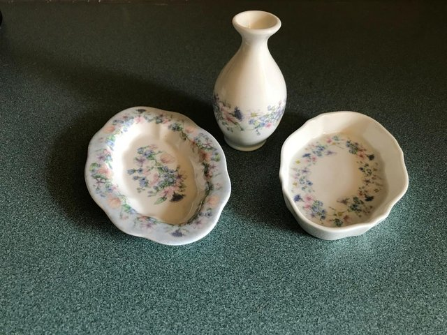 Image 3 of Ornament BUNDLE; Rabbits, Cats; Wedgewood dishes